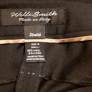 Willi Smith Stretch Slacks (made in Italy)NWOT